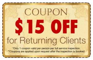 Coupon - $15 Off for Returning Clients